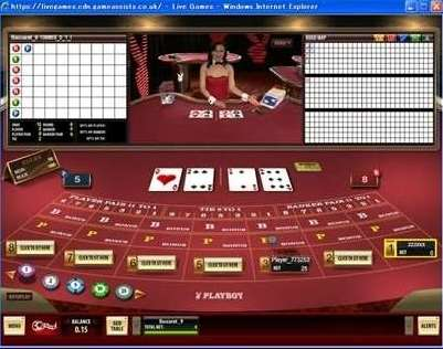 Playboyライブカジノ