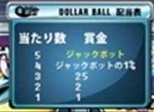 ダラーボール配当表