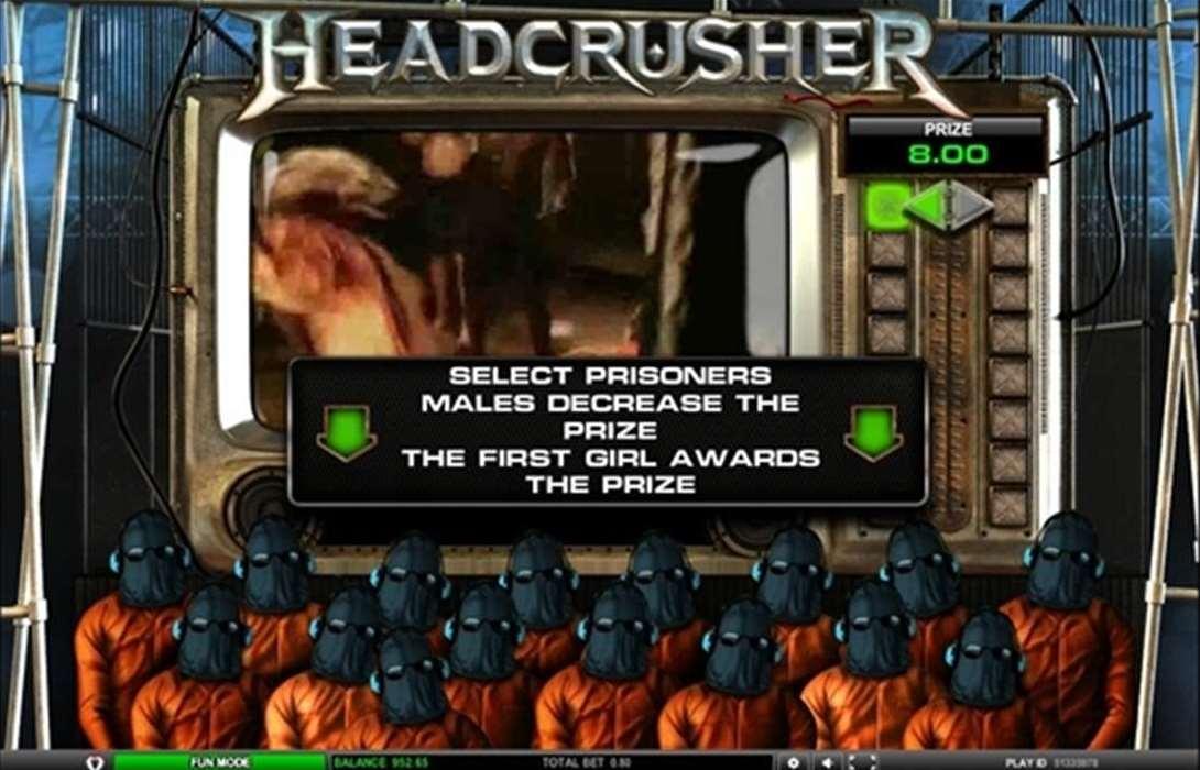 Head Crusher ボーナス1