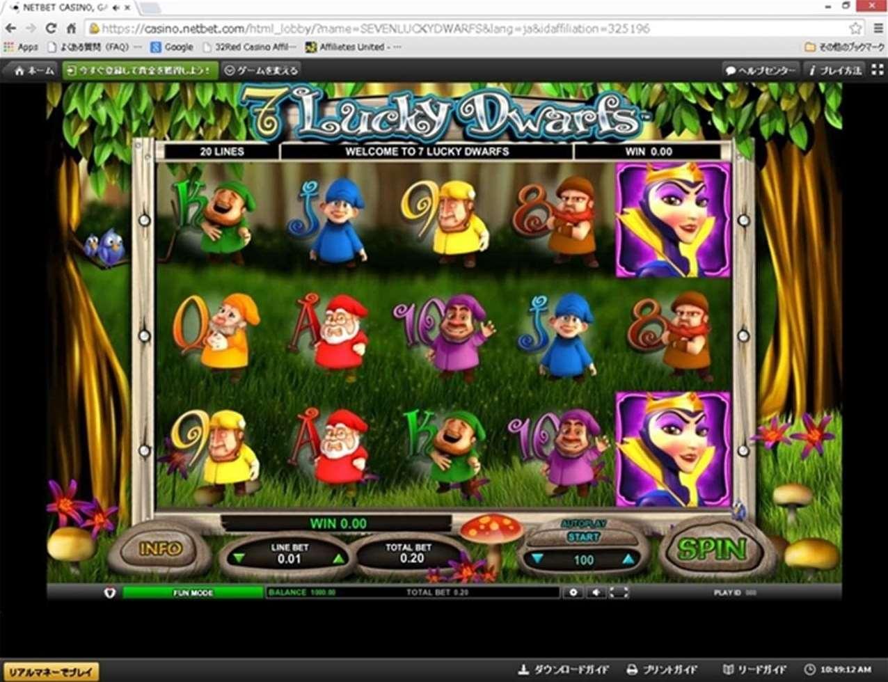 Seven Lucky Dwarfs