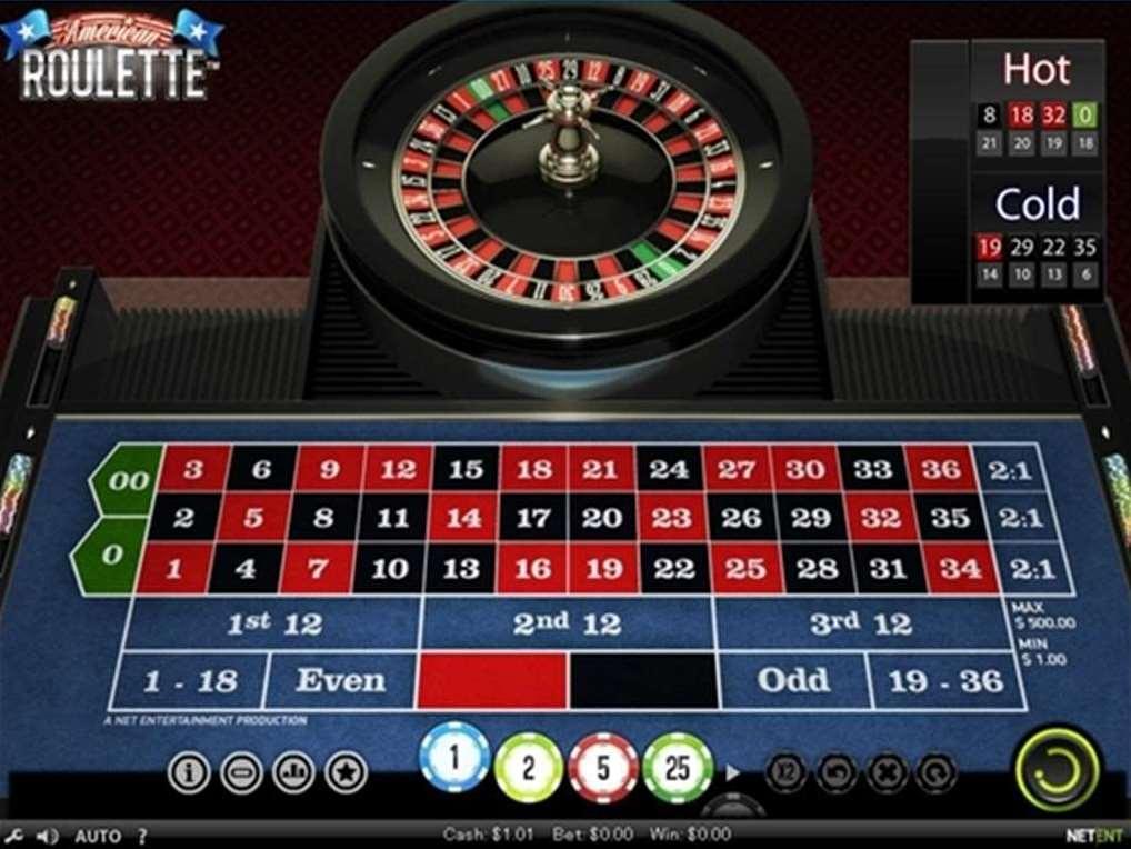 amerian roulette NetEnt