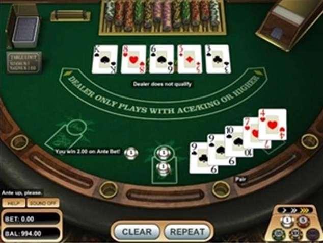 caribbean poker gold