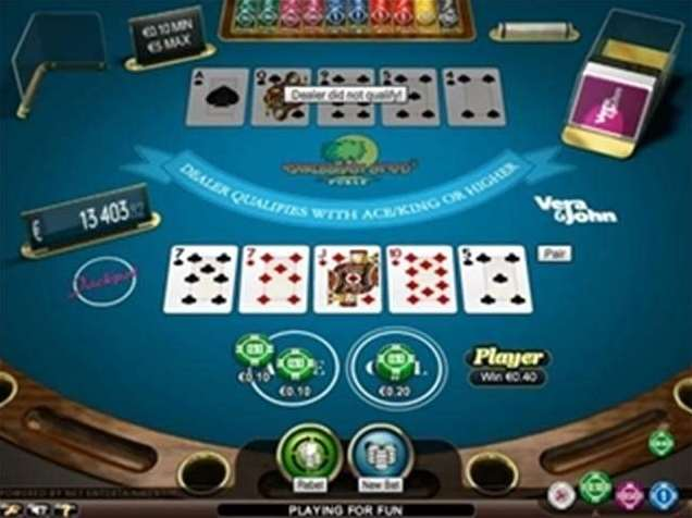 caribbean poker pro low limit