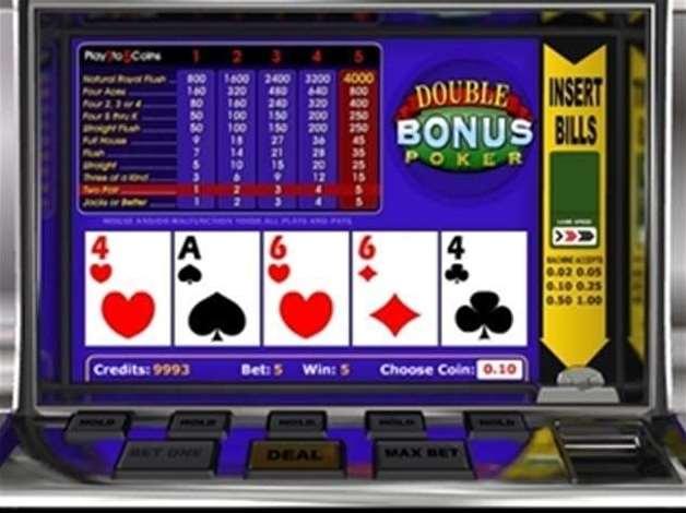 doble bonus poker