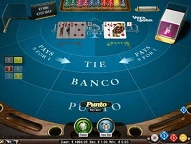 Punto Banco Professional Series Game Rulesno
