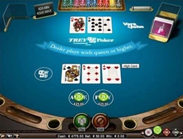 trey poker pro high limit