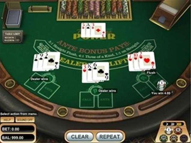 triple edgs poker