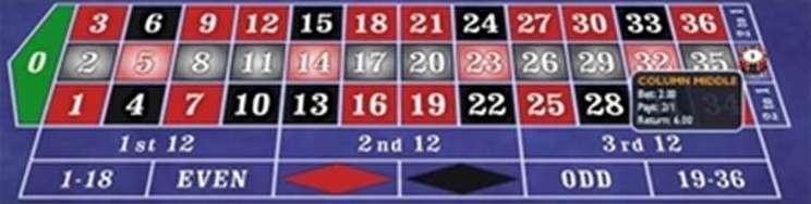 横1列の数字12個2