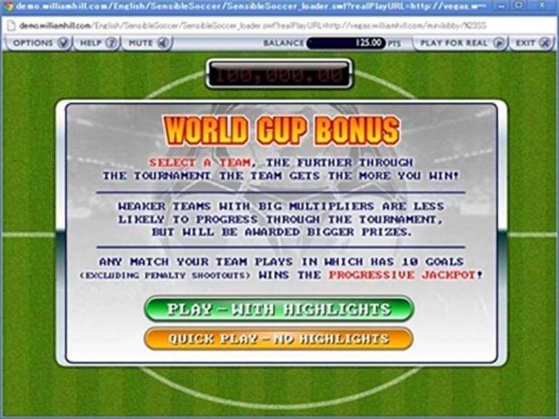 ワールドカップボーナスラウンド