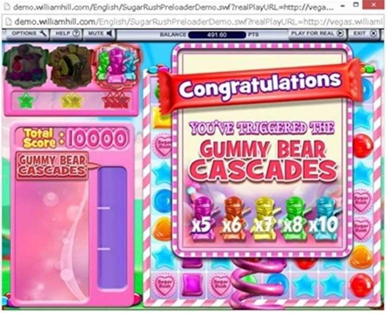 Gummy Bear Cascadesボーナス1