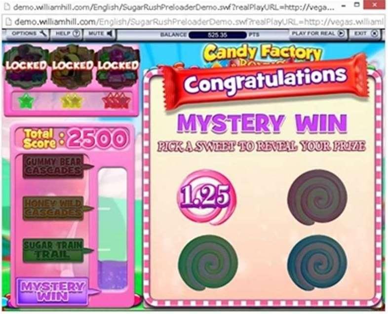 Mystery Winボーナス3