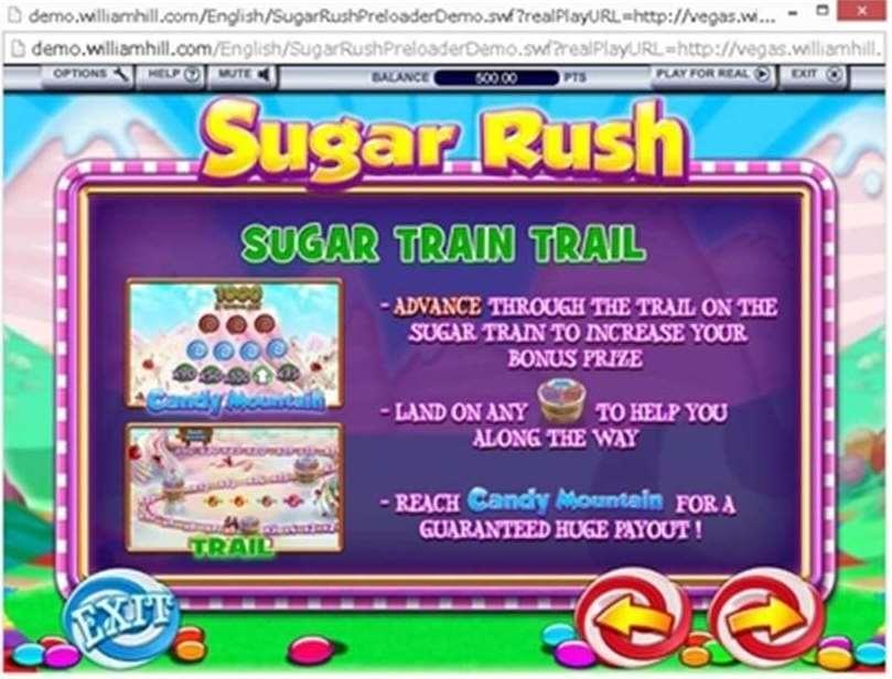 Suger Train Trailボーナス1
