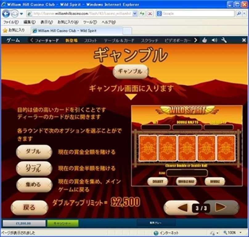 ギャンブルのページ