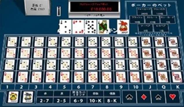 5枚のカードの組み合わせを予想