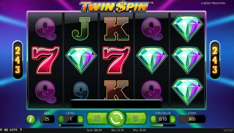 10BetカジノTwin Spin1