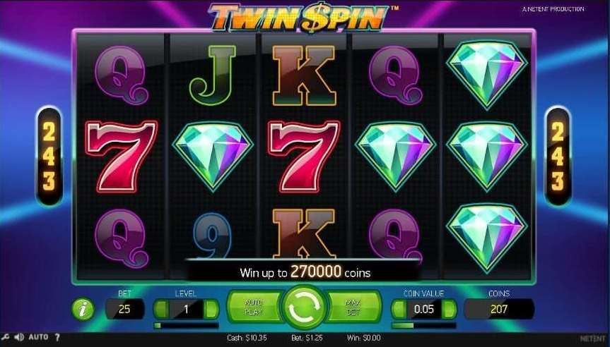10BetカジノTwin Spin3