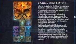 Colossal crush feature