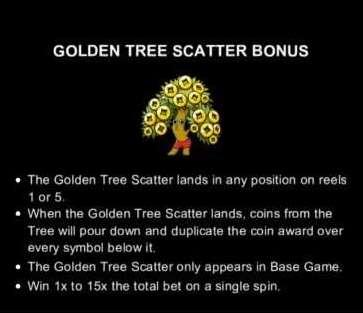 Golden Tree Scatter Bonus