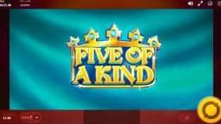 FIVE OF A KIND (ファイブ・オブ・ア・カインド)1