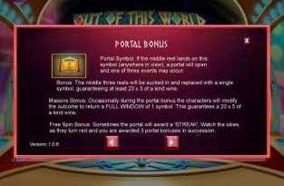Portal Bonus