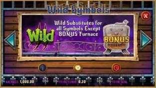 Wild Furnace Free Spins1