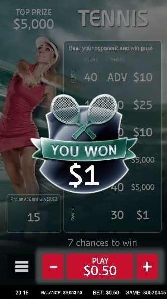 Scratch Tennis