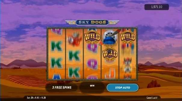Dog fight free spin bonus9