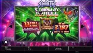 Stairway to Hell Free Spins