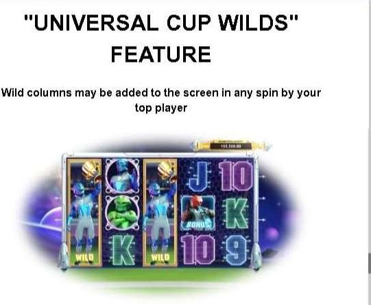 Universal Cup Wilds Feature
