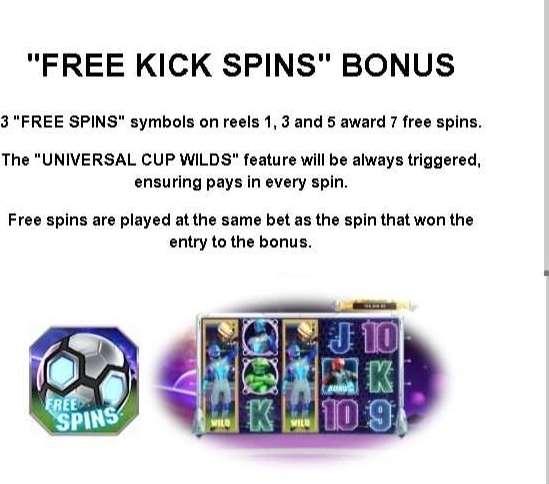 Free Kick Spins Bonus
