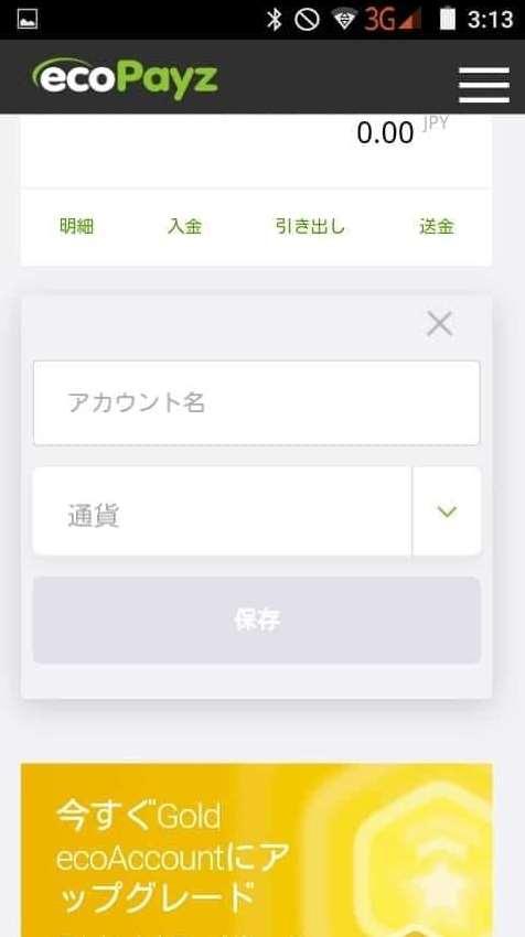 モバイルPayment Option2