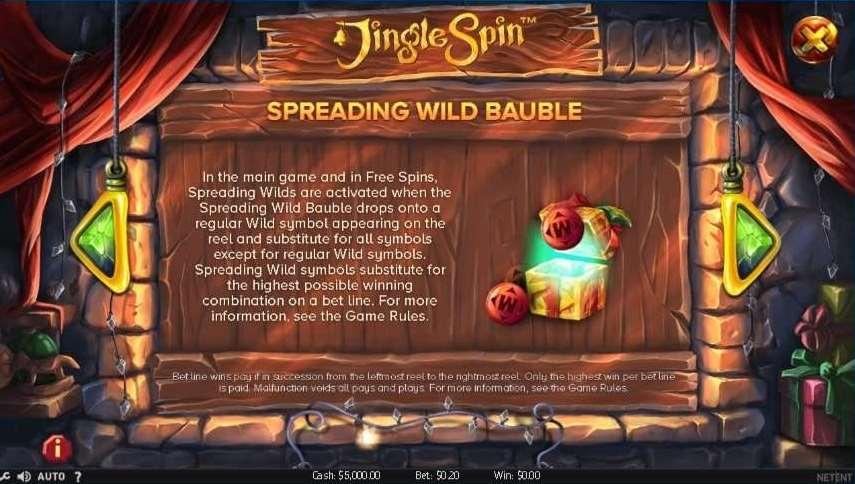 Spreading Wild Bauble