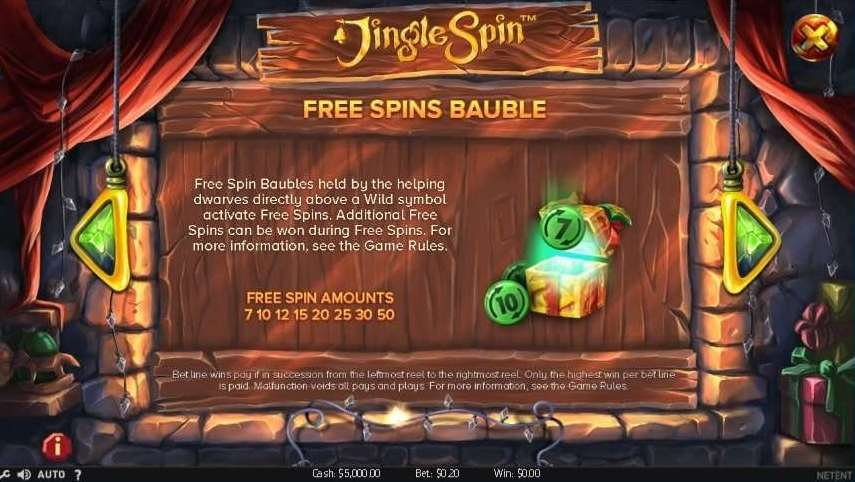 Free Spins Bauble