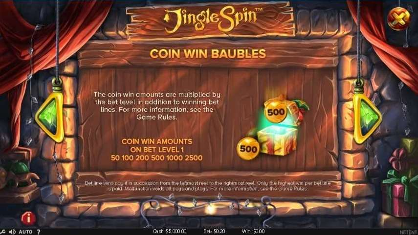 Coin Win Baubles