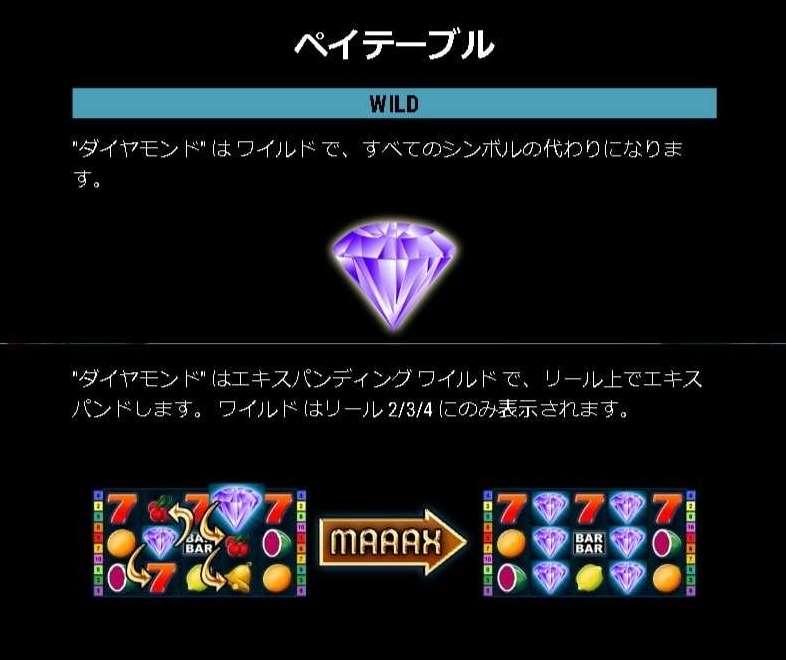 ダイヤモンド絵柄