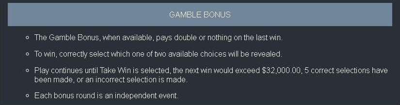 Gamble bonus