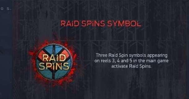 raid spins symbol