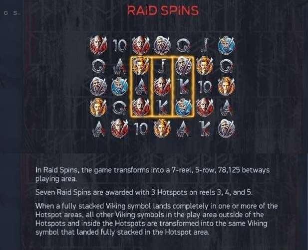 raid spins symbo2