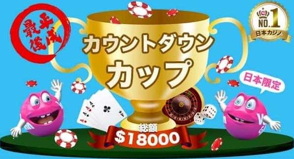 日本限定!カウントダウンカップ