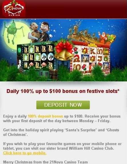 21NovaカジノGift-A-Day-Giveawayプロモーション5