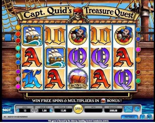 Capt'n Quids Treasure Quest