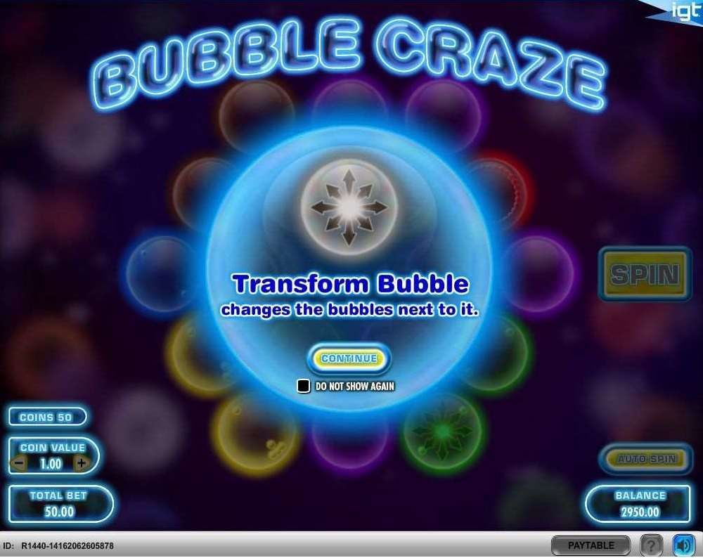 Tranceform Bubbles1