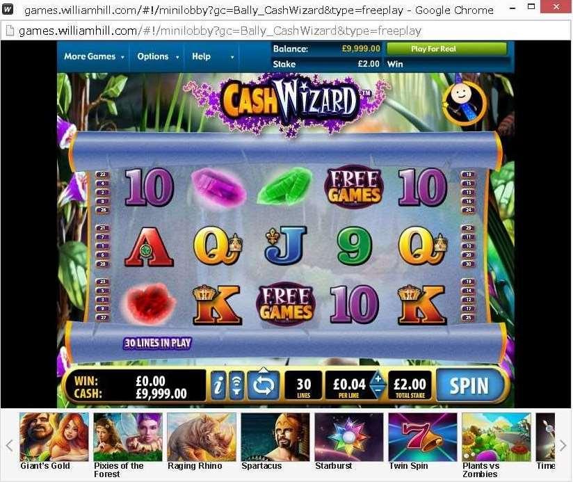 WHG Cash Wizard