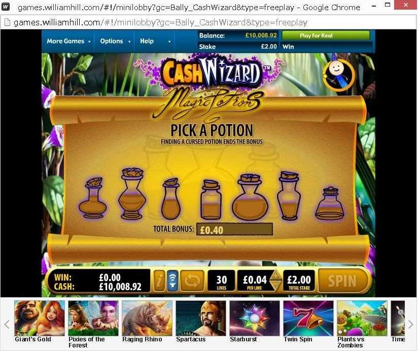 Magic a Potionのボーナス機能2