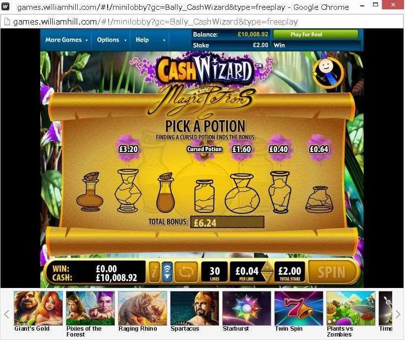 Magic a Potionのボーナス機能3
