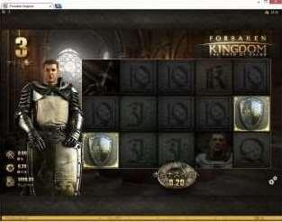 フリーゲーム中も銀の盾絵柄が2つ以上揃う