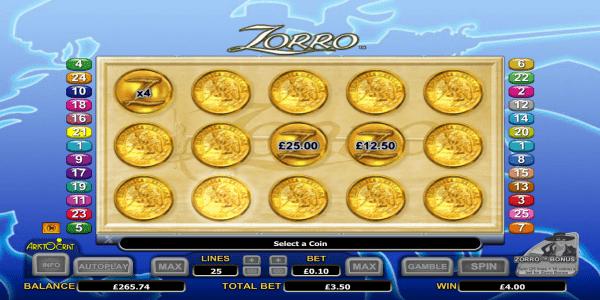 ゴールドコインボーナス