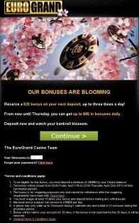 Our Bonuses are Blooming