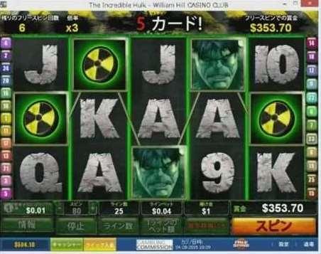The Incredible Hulkフリーゲーム