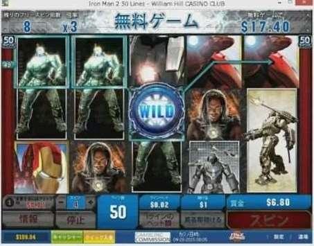 Iron Man 2フリーゲーム2倍